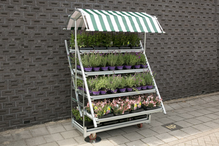Horti-display komplett mit Markise